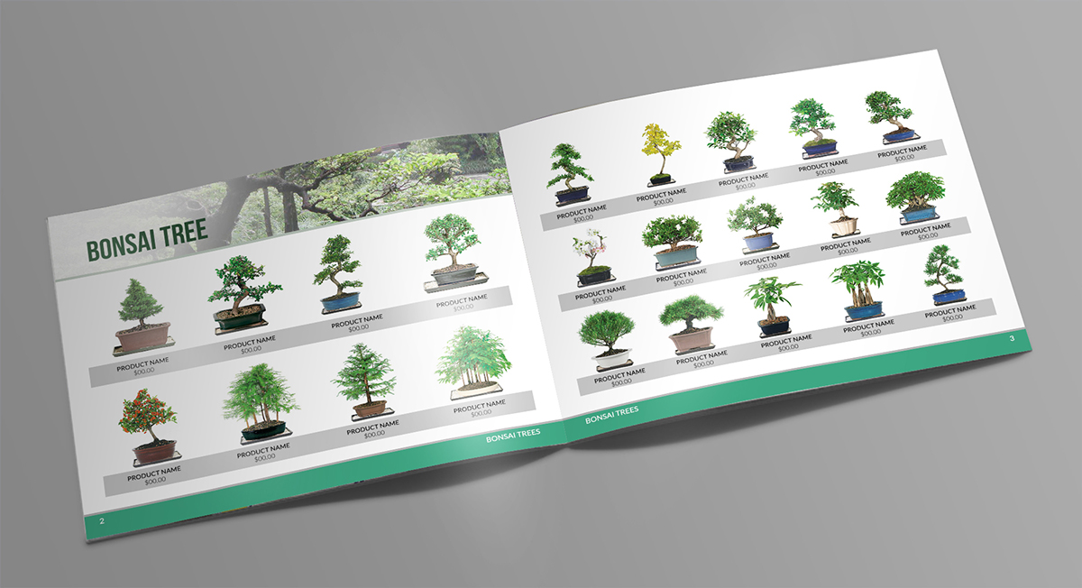 Print Design By MDesigns For Dallas Bonsai Garden | Design #13782495