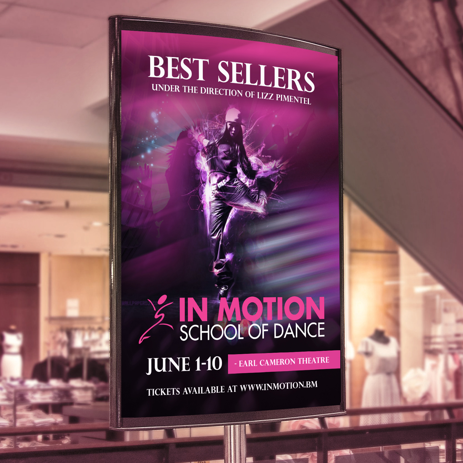 Bold Modern Dance Studio Poster Design For A Company By Technotecdesign Design 13756924