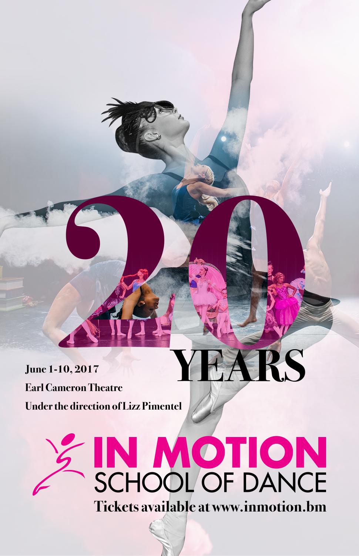 Bold Modern Dance Studio Poster Design For A Company In Bermuda