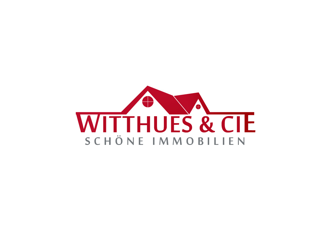 professional upmarket real estate logo design for witthues cie pls add sch ne immobilien. Black Bedroom Furniture Sets. Home Design Ideas