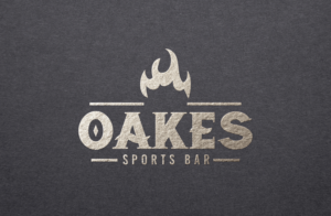 20 Oakes Bar and Grill | Logo Design by GLDesigns