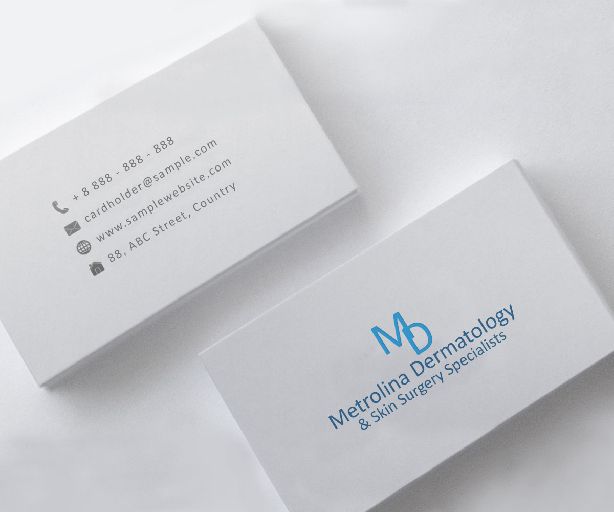 Elegant, Professional Logo Design for Metrolina Dermatology