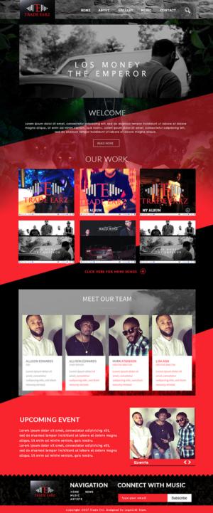 Hip Hop Web Page Designers