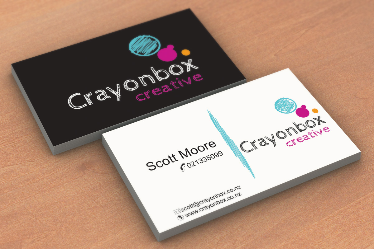 Bold, Modern Business Card Design for Crayonbox Creative by ...
