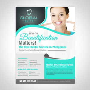 53 Modern Upmarket Dental Clinic Flyer Designs for a Dental Clinic ...