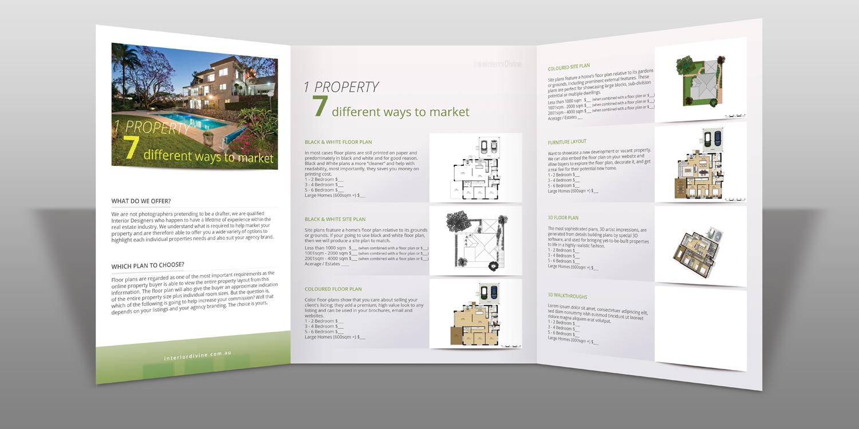 Upmarket Modern Marketing Brochure Design For Interior Divine