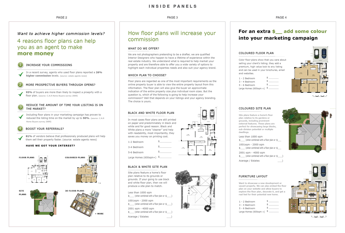 Upmarket Property Development Brochures : Upmarket modern marketing brochure design for interior