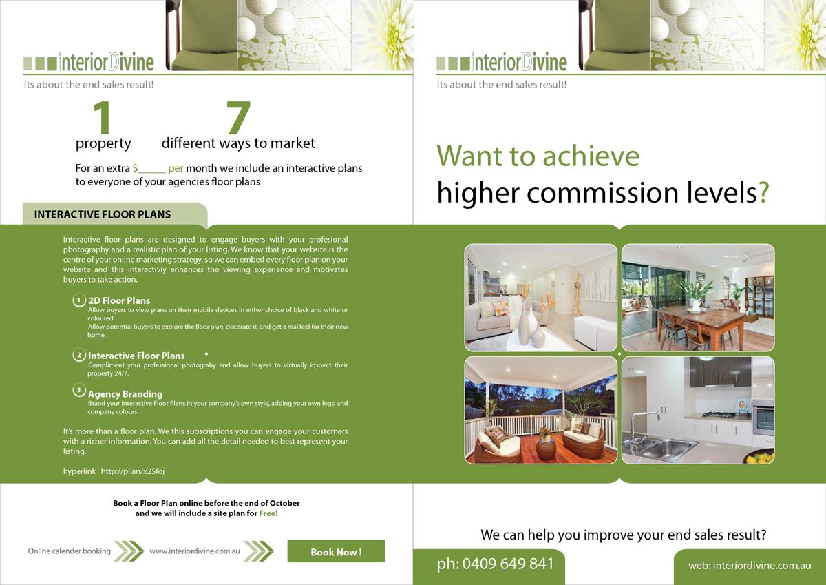 Upmarket Property Development Brochures : Upmarket modern brochure design for interior divine