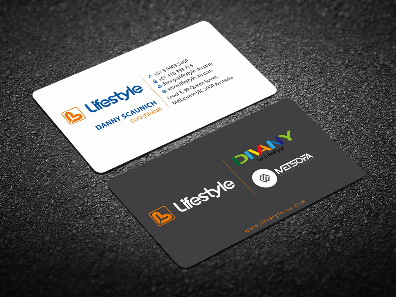 Serious modern business card design for lifestyle by business card design by madhuraminfotech for lifestyle business card design 13841396 magicingreecefo Choice Image
