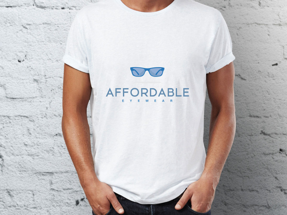Playful Bold Optician Logo Design For Affordable Eyewear By