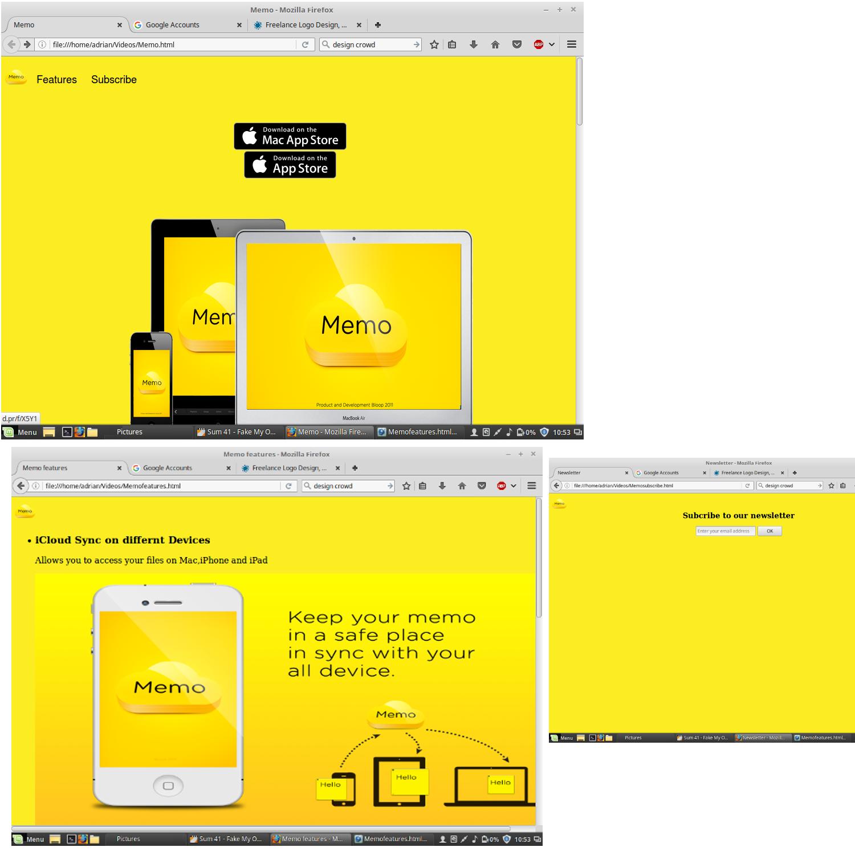 Elegant, Modern, Landing Page Design for Bloop by Adrizy ... on home design games, home design windows, home design blog, home design mobile, home design ipad, home design facebook, home design software, home design features, home design templates,