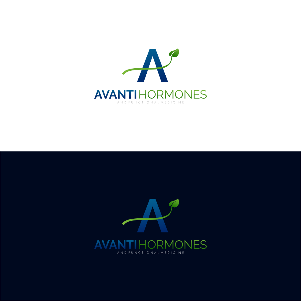 Professional upmarket it company logo design for avanti hormones logo design by weiarts for avanti hormones and functional medicine design 13880628 m4hsunfo