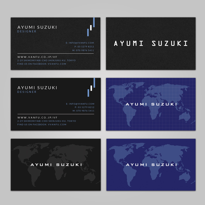 Elegant playful printing business card design for vanfu inc by business card design by sandaruwan for vanfu inc design 13906716 reheart Gallery