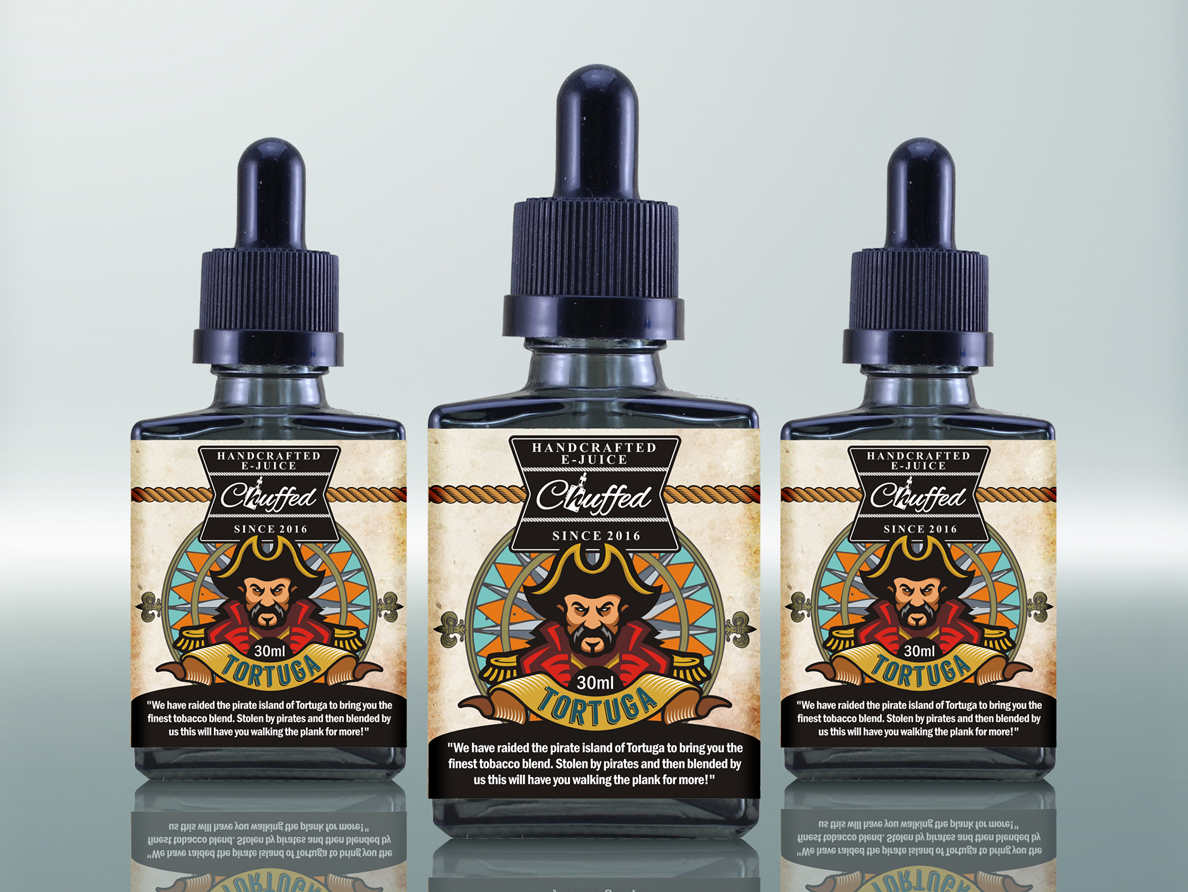 Pirate Ejuice Label By Dexelance