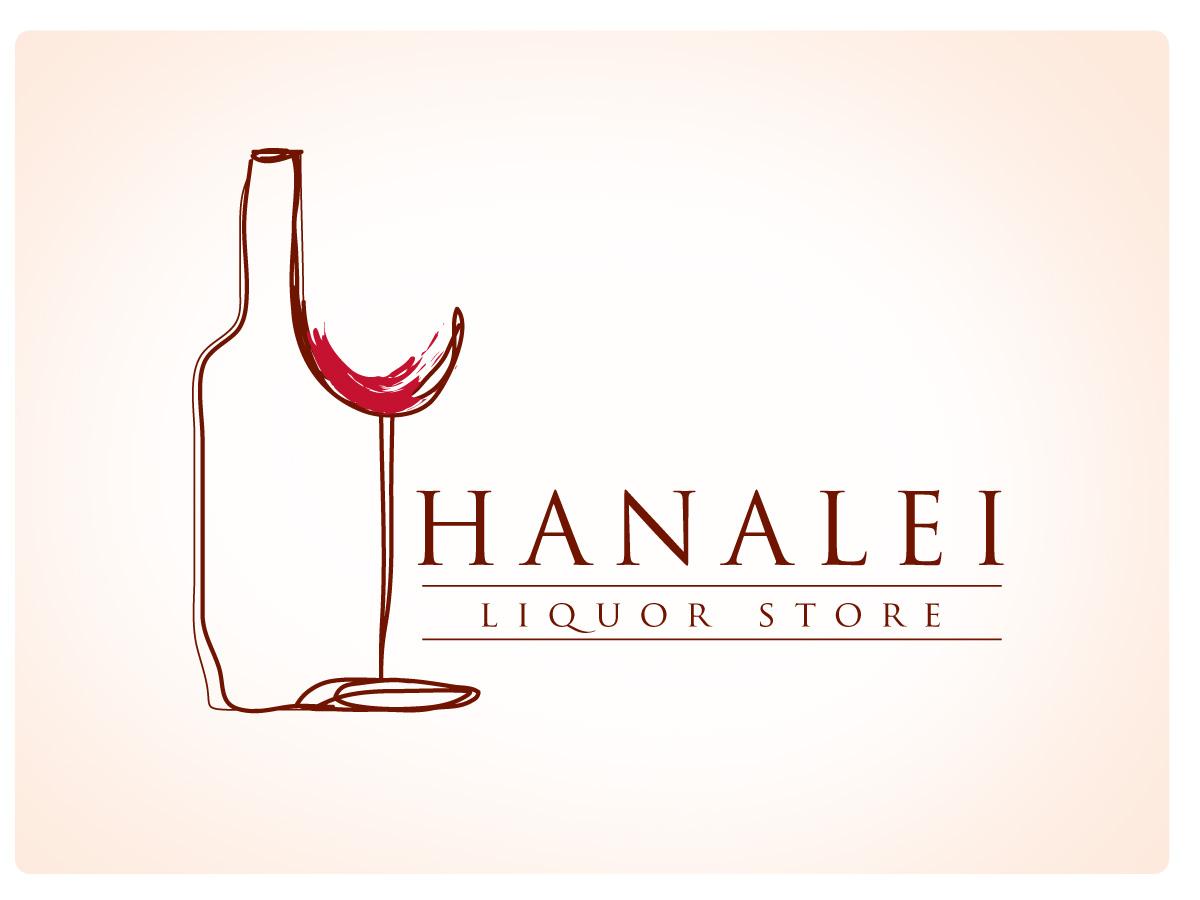Elegant Playful Farming Logo Design For Hanalei Liquor Store By