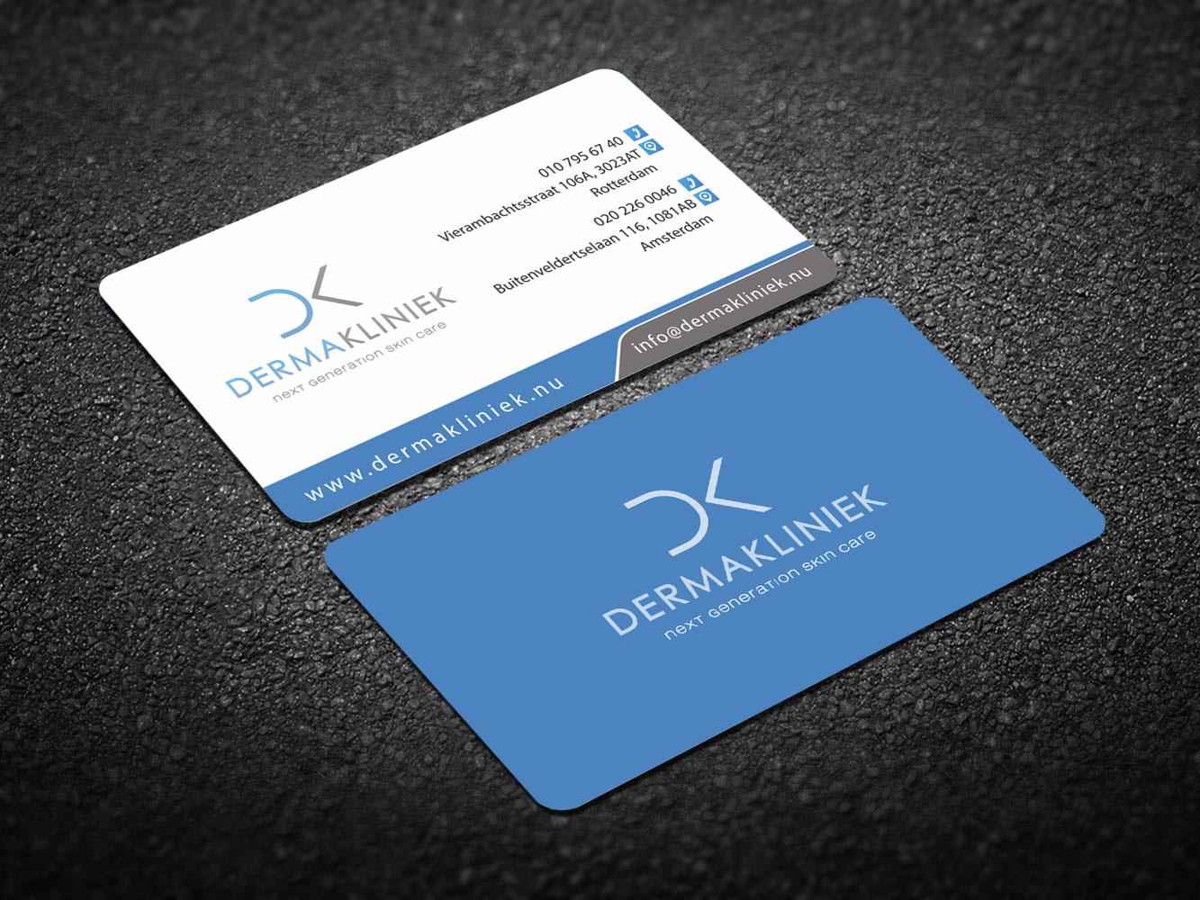 Elegant, Modern, Business Business Card Design for Derma Kliniek by ...