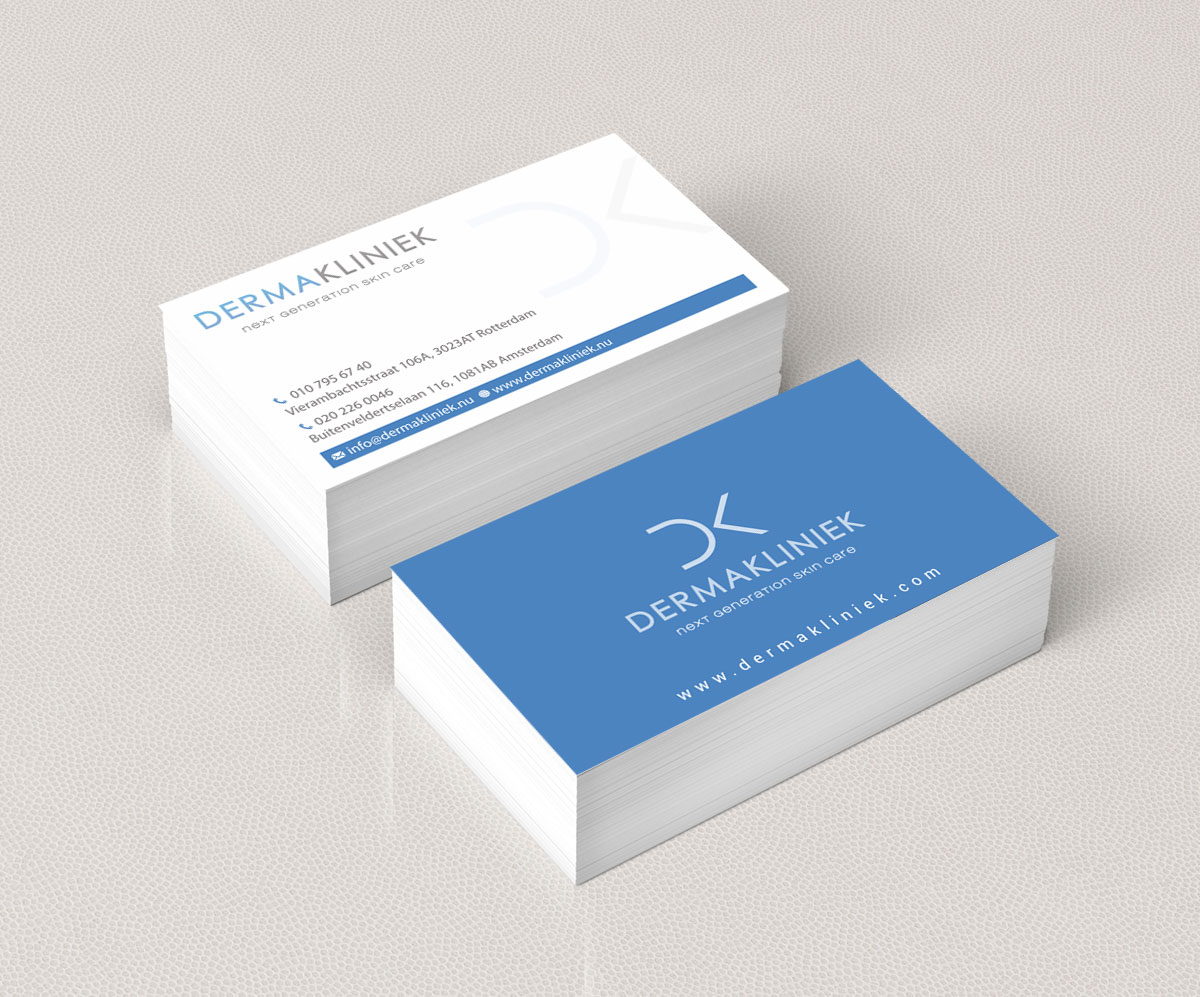 Elegant modern business business card design for derma kliniek by business card design by jetweb for derma kliniek design 14001816 colourmoves