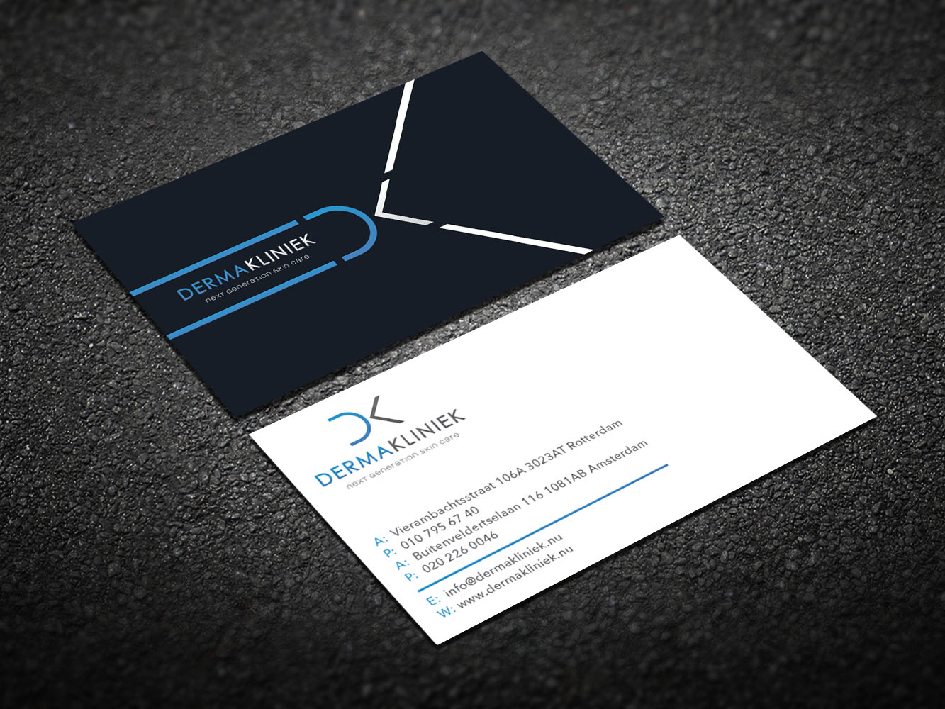 Elegant, Modern Business Card Design for Derma Kliniek by Design ...