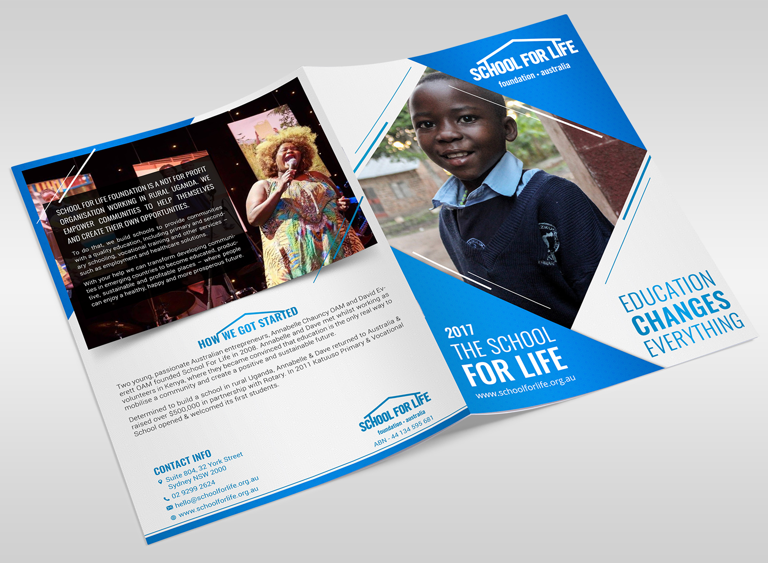 personable upmarket charity flyer design for a company by sd