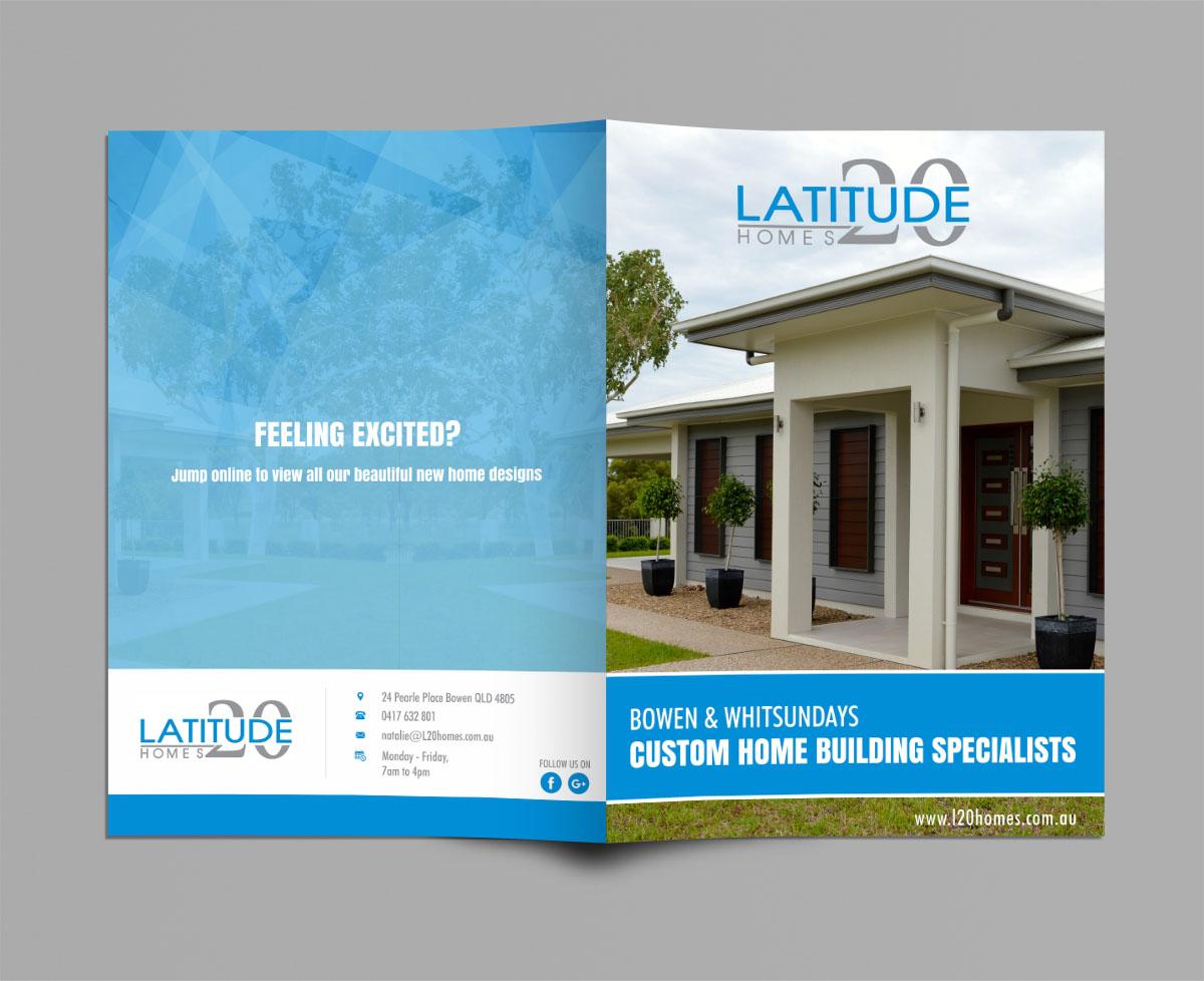Brochure Design By Ecorokerz For Latitude 20 Homes | Design #13912812