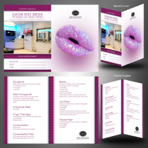 Bold playful flyer design job flyer brief for lca a company in flyer design job small 4 page folding business cardprice list for botox and colourmoves