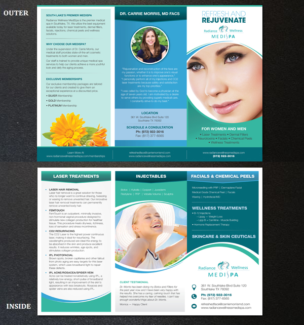Modern, Elegant, Wellness Flyer Design For PhysVisible By