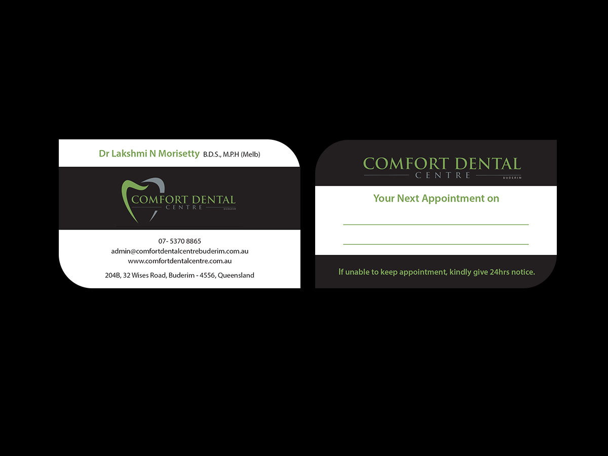 Modern professional dental clinic business card design for a business card design by creations box 2015 for this project design 13932228 reheart Choice Image