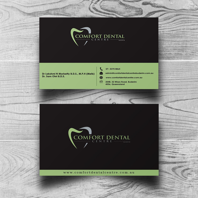 Design De Carte Visite Moderne Professionnelle Dental Clinic Pour A Company En Aux Australia