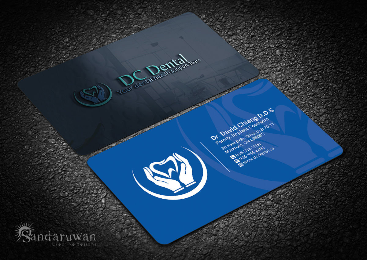 Modern, Professional, Dental Business Card Design for a Company by ...