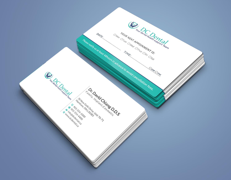 Modern, Professional Business Card Design by r4960 | Design #14028442
