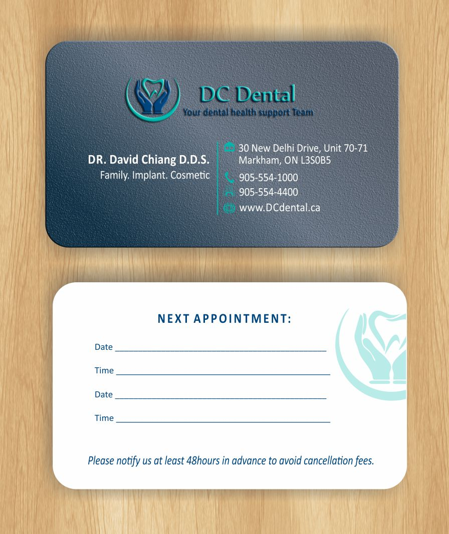 Modern, Professional Business Card Design for David Chiang by ...