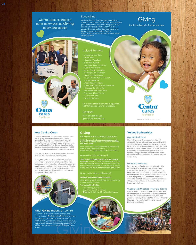 Sympatisch, Bunt Broschüren-Design Job Broschüre Kurzbeschreibung Throughout Ngo Brochure Templates