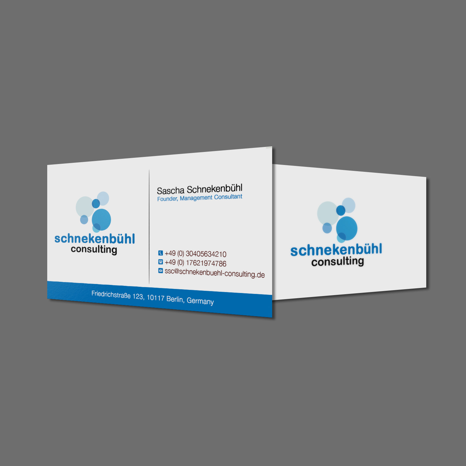 Professional elegant business business card design for business card design by creation lanka for schnekenbhl consulting design 13941729 reheart Gallery