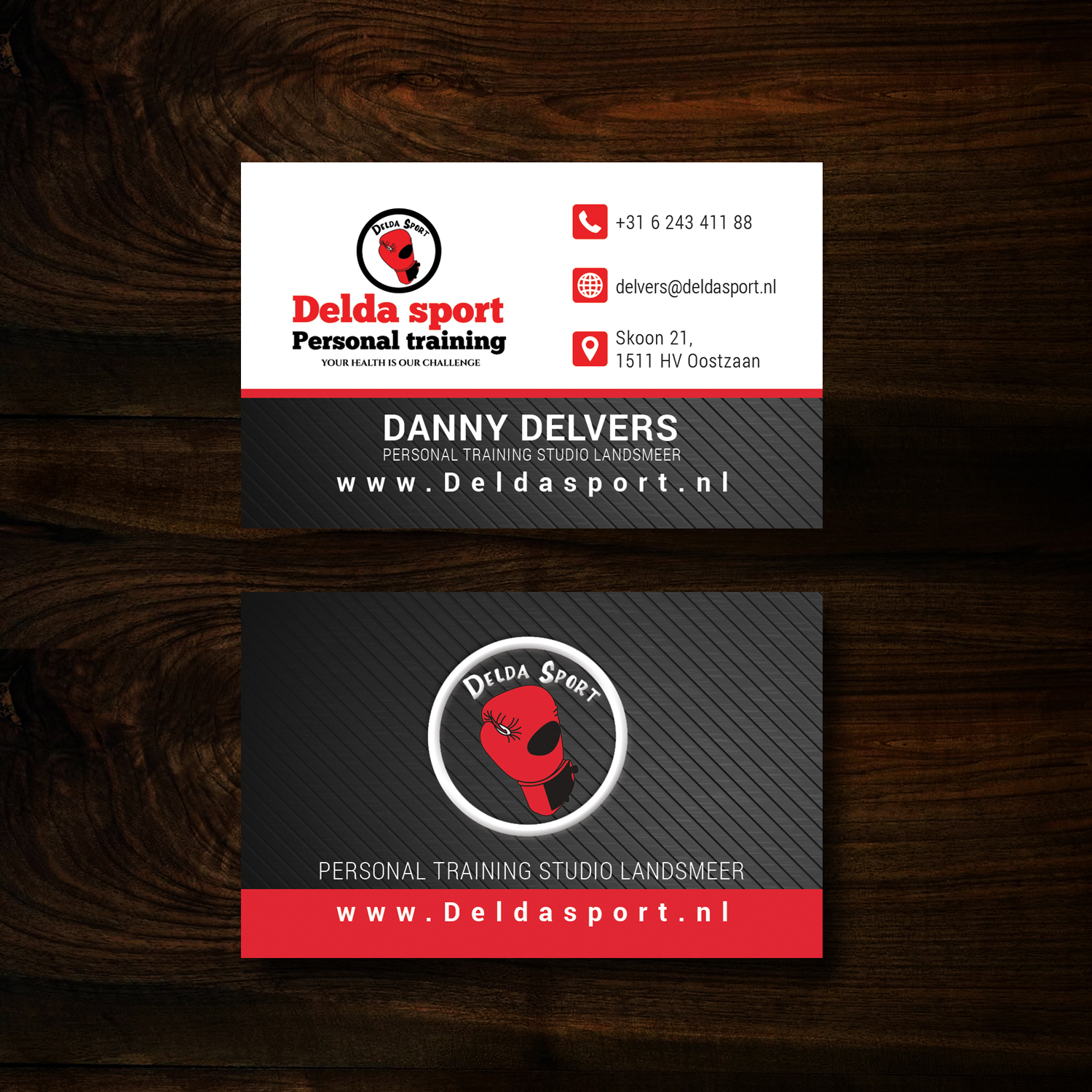 Modern, Professional, Fitness Business Card Design for Personal ...