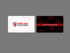 57 Modern Professional Fitness Business Card Designs for a Fitness