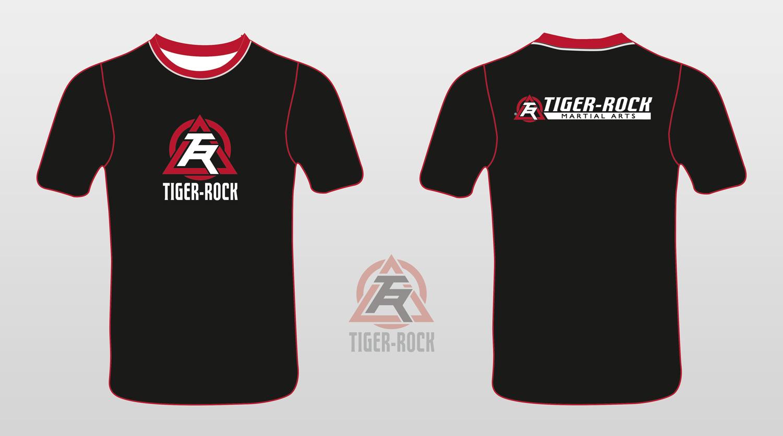 Upmarket Bold T Shirt Design For Tiger Rock Martial Arts By Petter