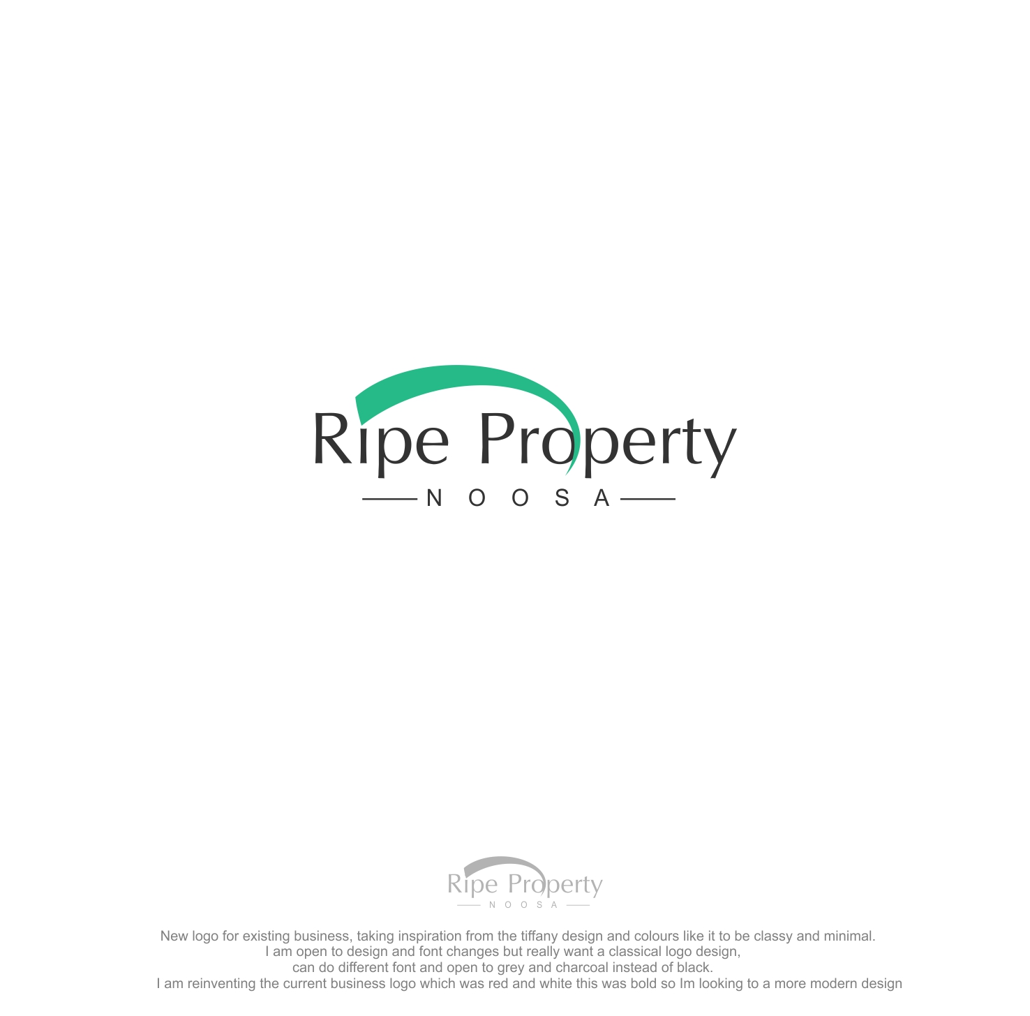 Elegant Serious Real Estate Agent Logo Design For A Company In Australia