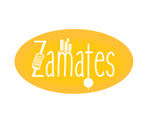 Playful, Colorful, Fast Food Restaurant Logo Design for ZAMATES by