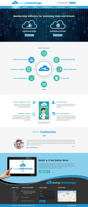 47 Modern Personable Internet Web Designs for a Internet business ...
