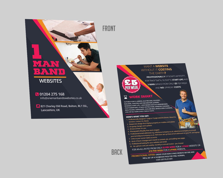 flyer design by lesaba design for red flame marketing design 14057834