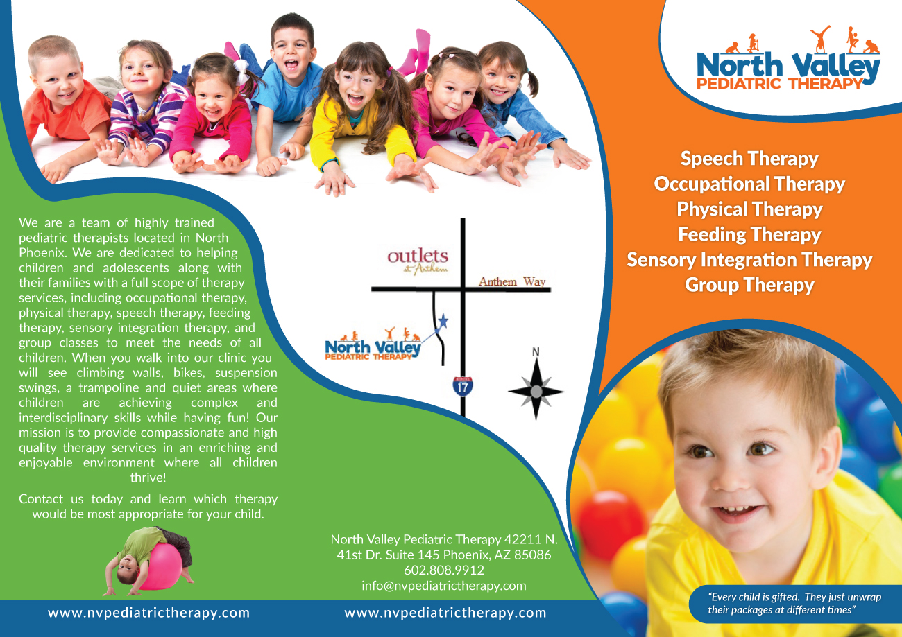 86 bold brochure designs medical brochure design project for north brochure design by black stallions impressive solutions for north valley pediatric therapy design altavistaventures Choice Image