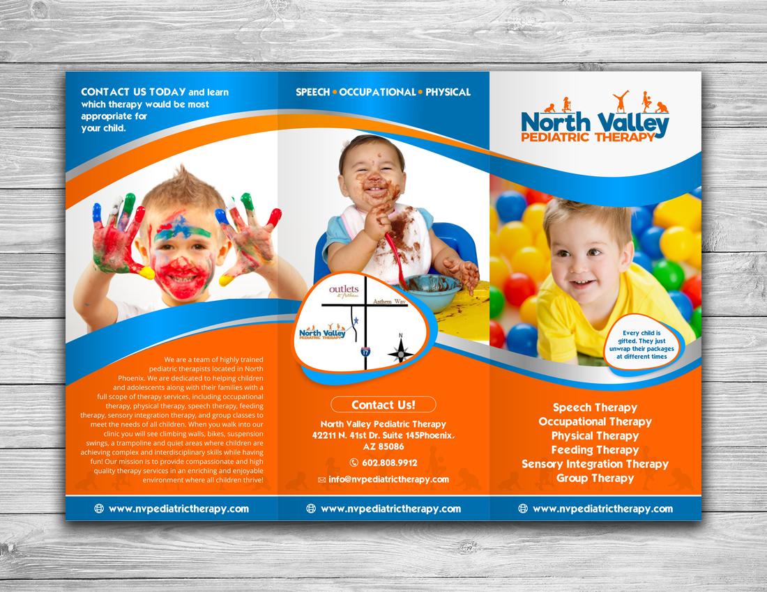 Bold serious medical brochure design for north valley pediatric bold serious medical brochure design for north valley pediatric therapy in united states design 13959908 altavistaventures Choice Image