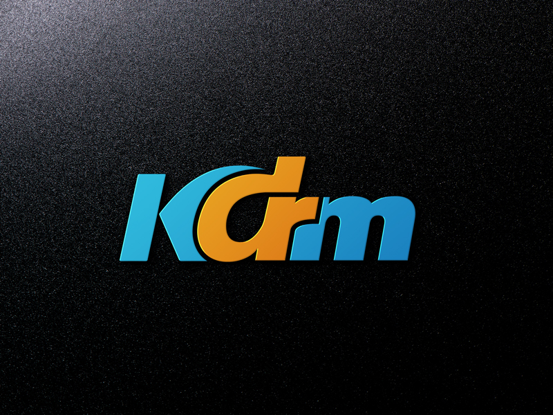 Serious Professional Design Agency Logo Design For Kdrm By Design