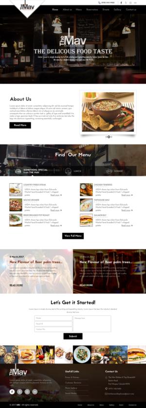 web design job kitchen tap house requires web site design casual restaurant