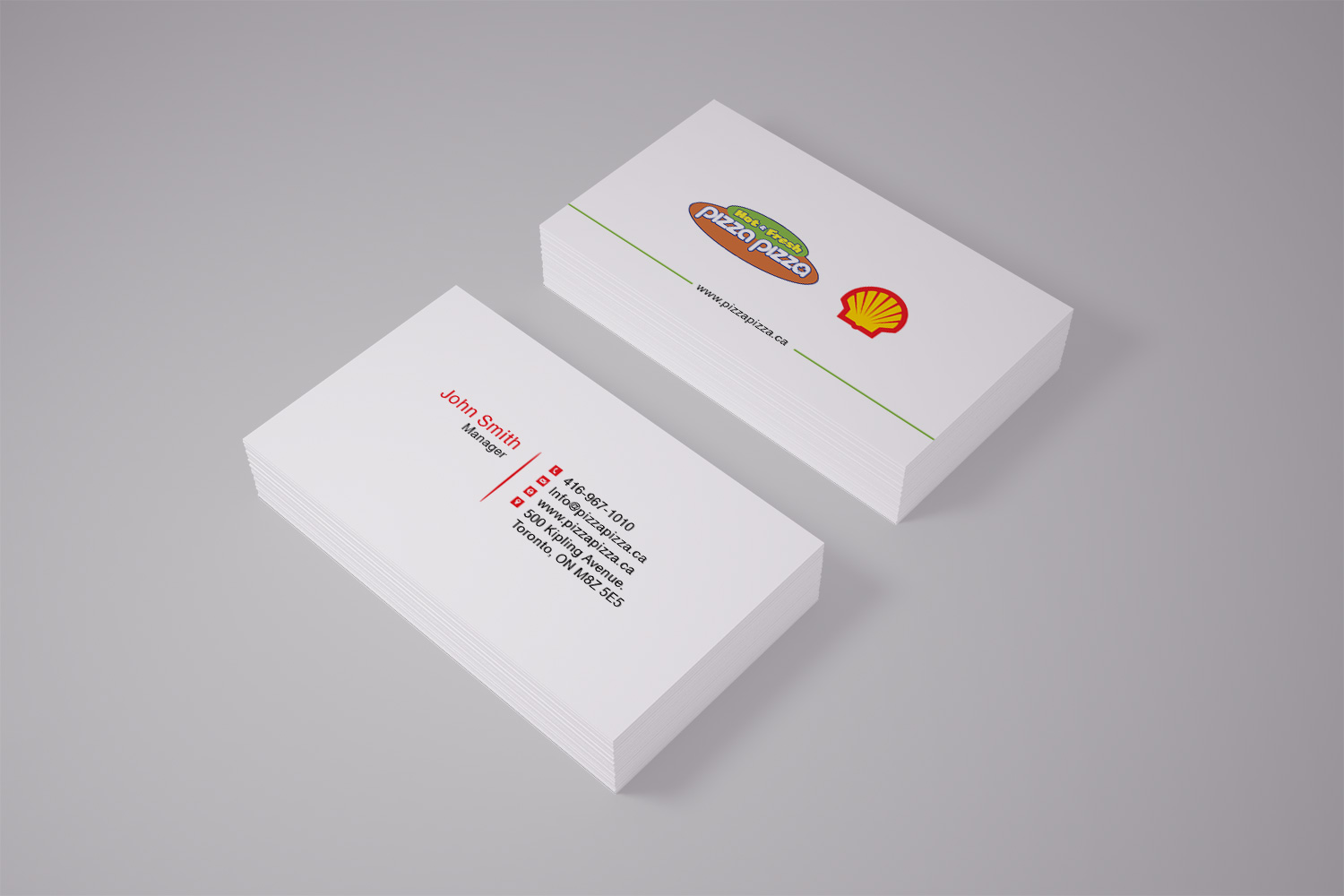 Serious modern restaurant business card design for shell gas business card design by pawana designs for shell gas station design 14067553 colourmoves