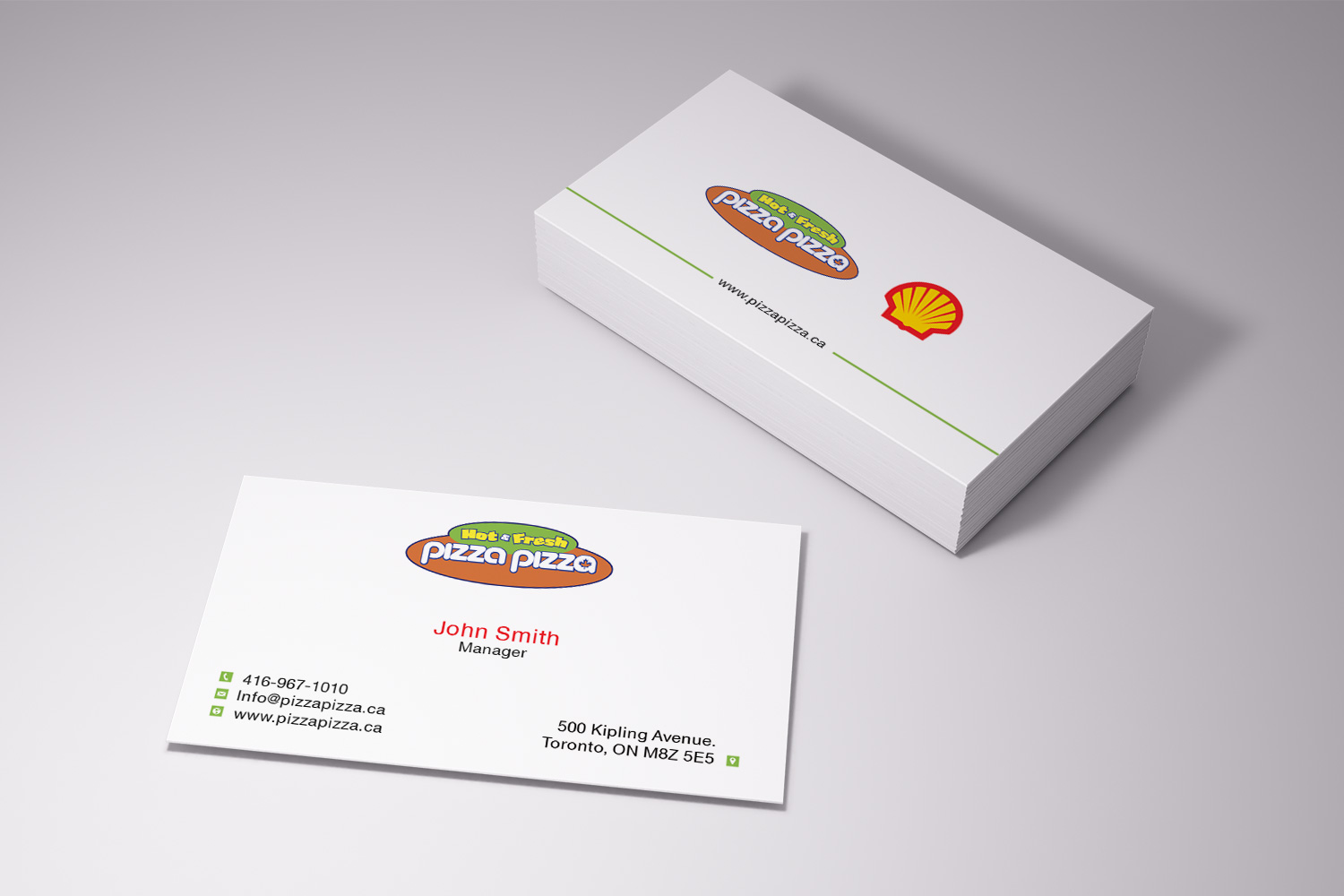 Serious modern restaurant business card design for shell gas business card design by pawana designs for shell gas station design 14067555 colourmoves