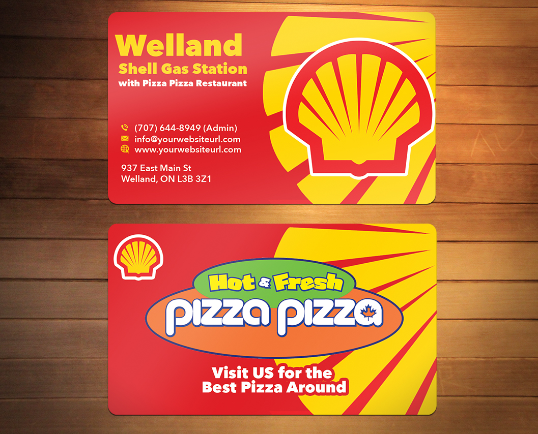 Serious modern restaurant business card design for shell gas business card design by creativminds multimedia jamaica ltd for shell gas station design colourmoves