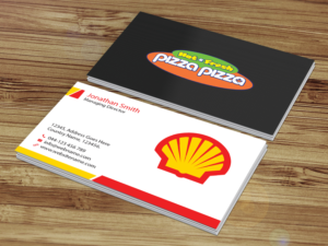 177 serious business card designs restaurant business card design business card design by creations box 2015 for shell gas station design 14073336 colourmoves