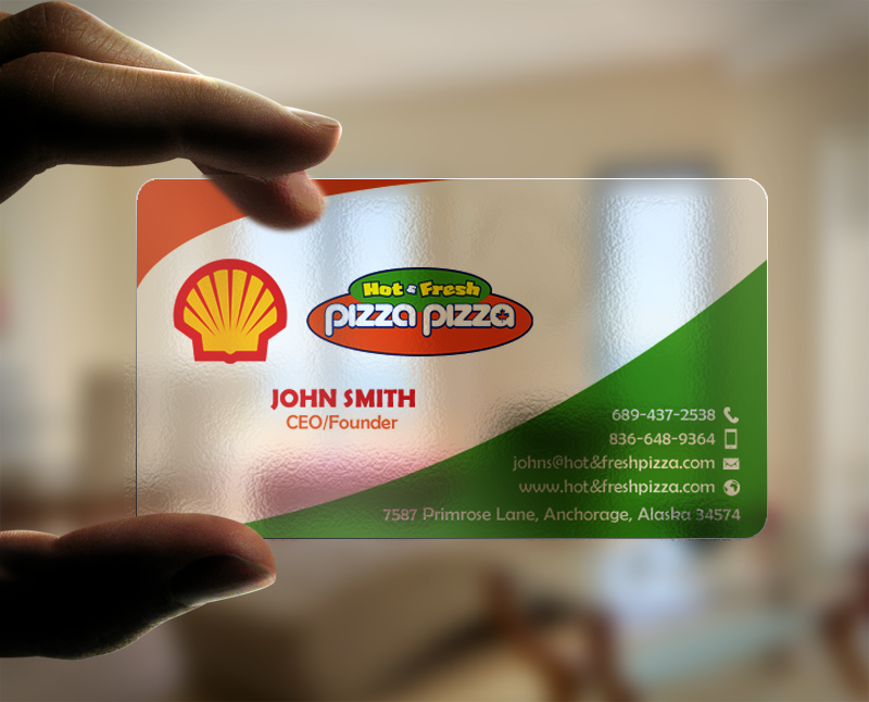 Business Card Design By Chandrayaancreative For Shell Gas Station