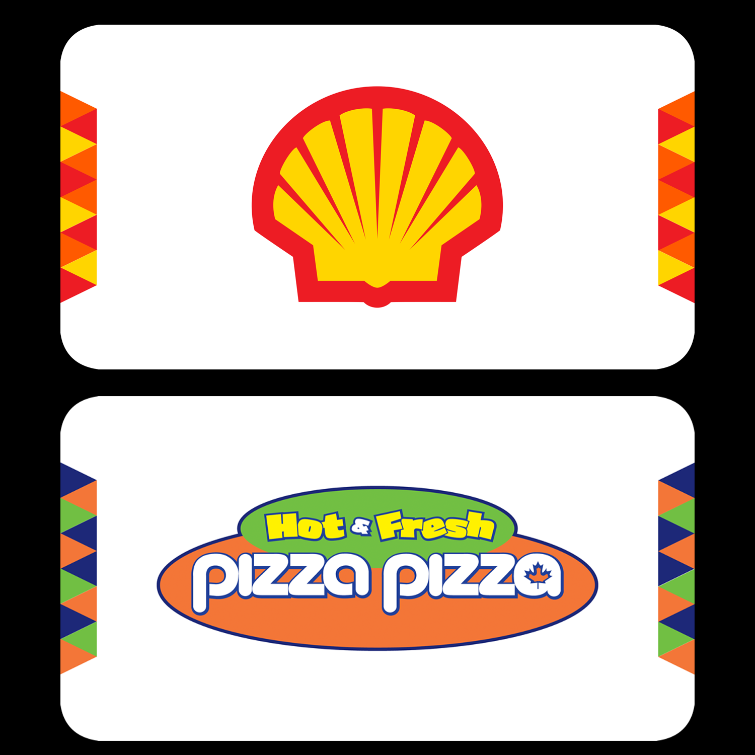 serious modern business card design for shell gas station by sam